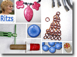 Ritzs Polymer Clay and Jewelry Projects