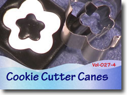Cookie Cutter Cane, Polymer Clay