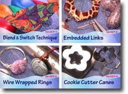 Polymer Clay Video Tutorials Volume 27