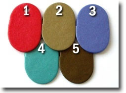 Rich Metallics Palette, Kato Polyclay Color Recipes by Sue Fisher
