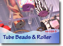 Tube Beads and Tube Bead Roller