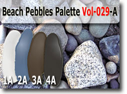 Beach Pebbles Polymer Clay Color Palette