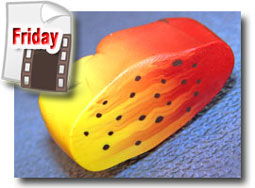 Polymer Clay Spotted Lily Petal Cane