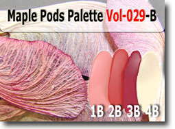 Maple Pods Polymer Clay Color Palette