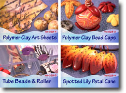Polymer Clay Video Tutorials Volume 28
