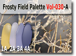 Frosty Field Polymer Clay Color Palette