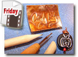 Polymer Embossed Metal Stamps