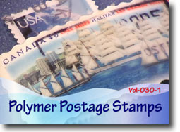 Polymer Postage Stamps