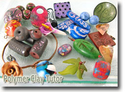 Polymer Clay Tutor Bead Prize