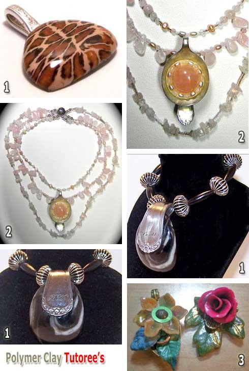 Polymer Clay Silver Spoon Polymer Clay Jewelry