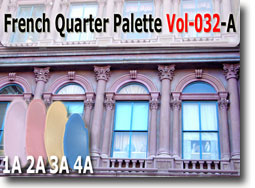 French Quarter Polymer Clay Color Palette