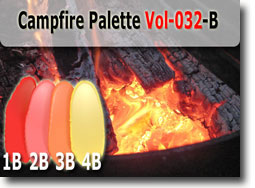 Campfire Polymer Clay Color Palette