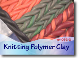 Faux Knit Polymer ClayTechnique