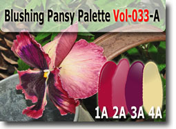 Blushing Panzy Polymer Clay Color Palette