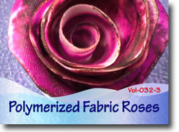 Polymerized Fabric Roses