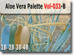 Aloe Vera Polymer Clay Color Palette
