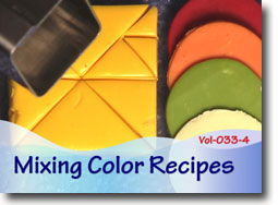 Mixing Color Recipes