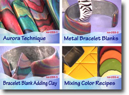 Polymer Clay Video Tutorials Volume 33