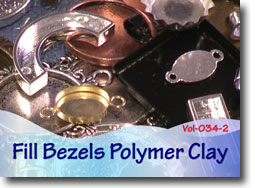 Filling Bezels with Polymer Clay