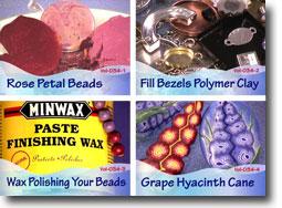 Polymer Clay Video Tutorials Volume 34