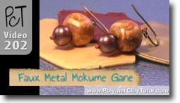Faux Metal Mokume Gane