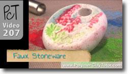 Faux Stoneware