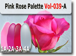 Pink Rose Polymer Clay Color Palette