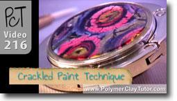 Crackled Paint Technique