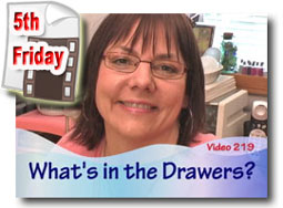 What's In The Drawers - Polymer Clay Tutor Studio