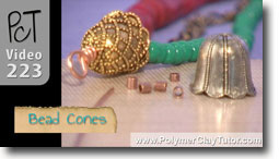 Bead Cones - Polymer Clay Tutor
