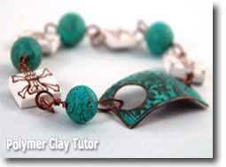 Pirate Bead Bracelet - Polymer Clay Tutor
