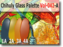 Chihuly Glass Color Palette by Polymer Clay Tutor