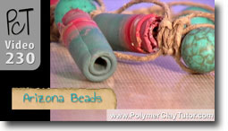 Scrap Clay Arizona Beads - Polymer Clay Tutor