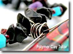 Gemstone Necklace - Polymer Clay Tutor