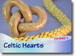 Celtic Hearts - Polymer Clay Tutor