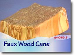 Faux Wood Cane - Polymer Clay Tutor