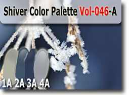 Shiver Color Palette by Polymer Clay Tutor