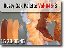 Rusty Oak Palette by Polymer Clay Tutor