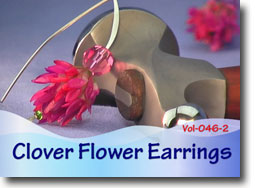 Clover Flower Earrings - Polymer Clay Tutor