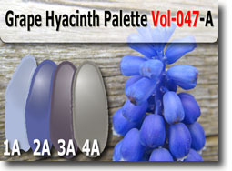 Grape Hyacinth Color Palette by Polymer Clay Tutor