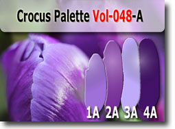 Crocus Color Palette by Polymer Clay Tutor