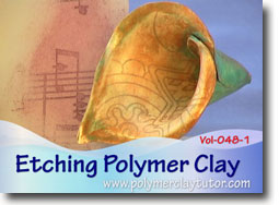 Etching Polymer Clay - Polymer Clay Tutor