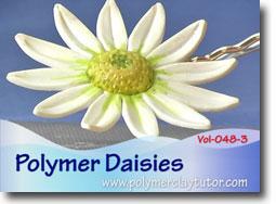 Polymer Daisies - Polymer Clay Tutor