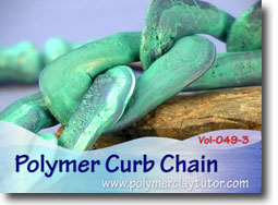 Polymer Curb Chain - Polymer Clay Tutor