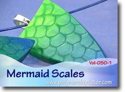 Mica Shift Mermaid Scales - Polymer Clay Tutor