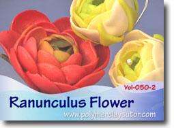 Ranunculus Flowers - Polymer Clay Tutor