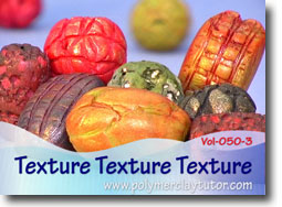 Textured Beads - Polymer Clay Tutor