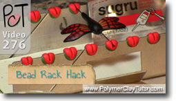 Sugru Hack Amaco Bead Rack