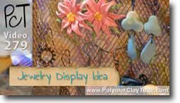 Polymer Clay Tutor Jewelry Display Ideas