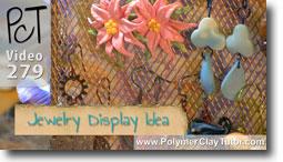 Polymer Clay Tutor Jewelry Display Ideas